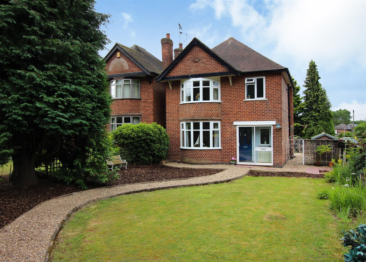 3 Bedrooms Property for sale in Ilkeston Road, Bramcote